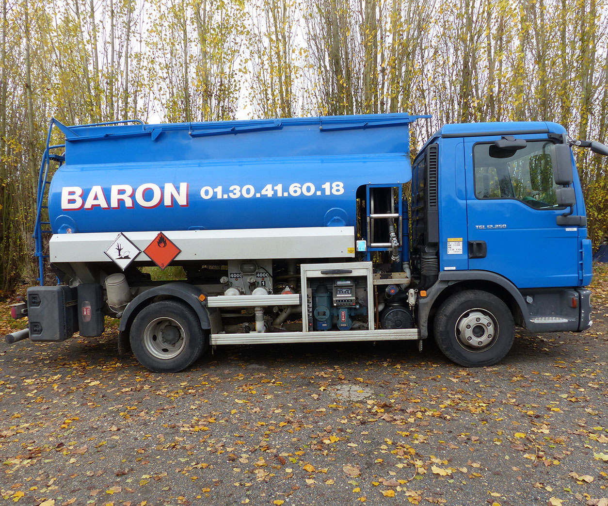 camion d'intervention